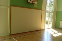 Mehka stenska obloga za športne dvorane