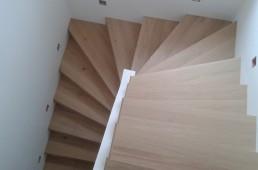 stopnišče iz parketa