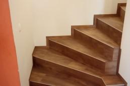 Vinil oreh stopnišče
